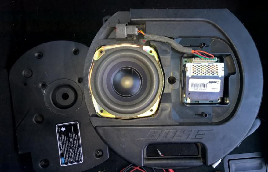 Install Bose Sub On Cx-3