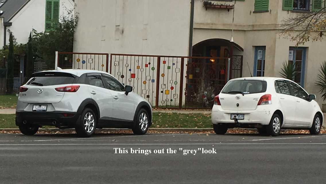 It S White No It S Not Mazda Cx3 Forum