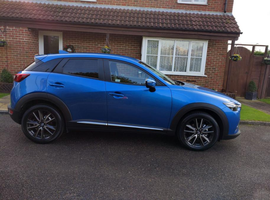 picked up new dynamic blue cx--3 yesterday - mazda cx3 forum