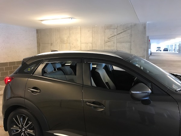 Installed Factory Roof Rails - Mazda CX3 Forum
