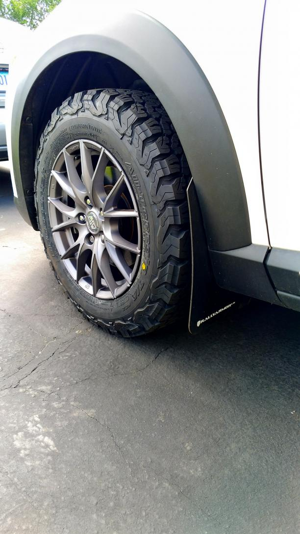 Off road-y tires - Mazda CX3 Forum