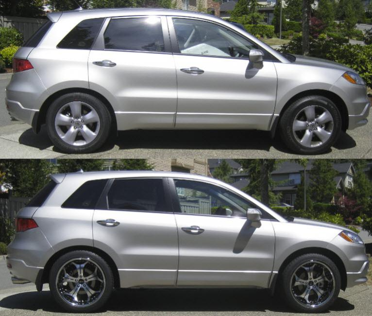 Lowered CX Page Mazda CX Forum - Acura rdx lowering springs